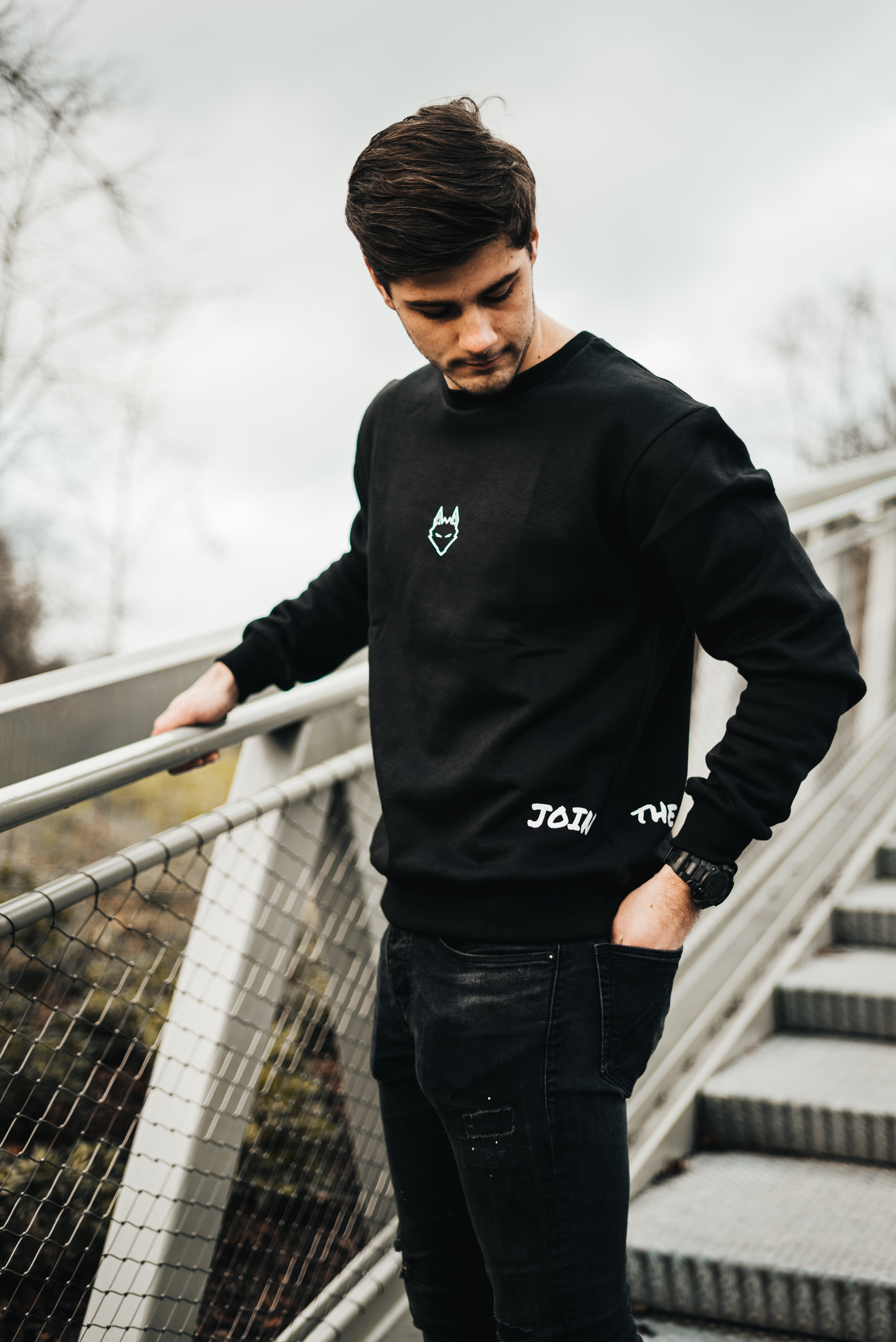 JTP Sweater Black