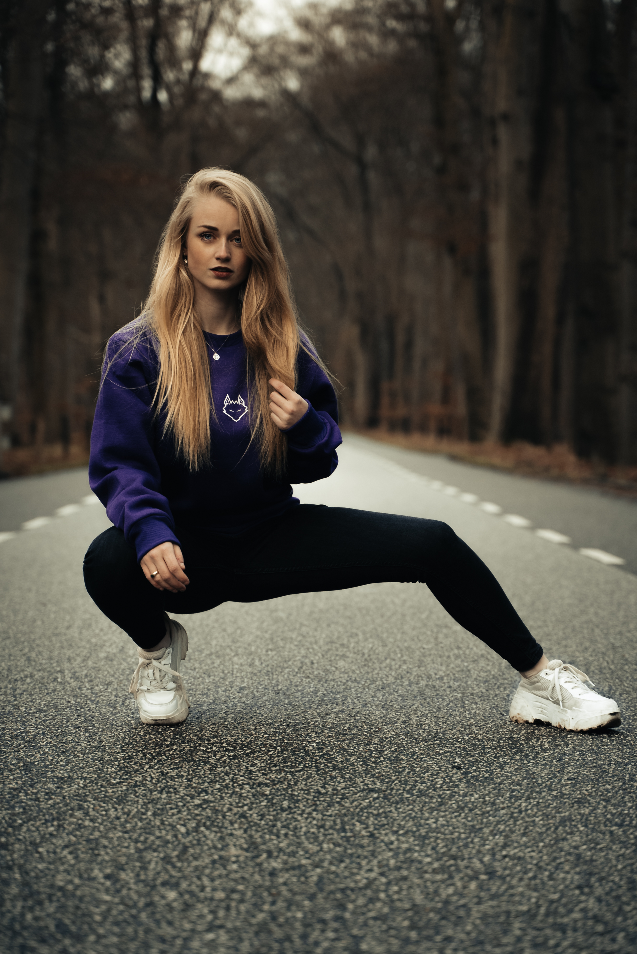 Join The Pack Sweater Purple