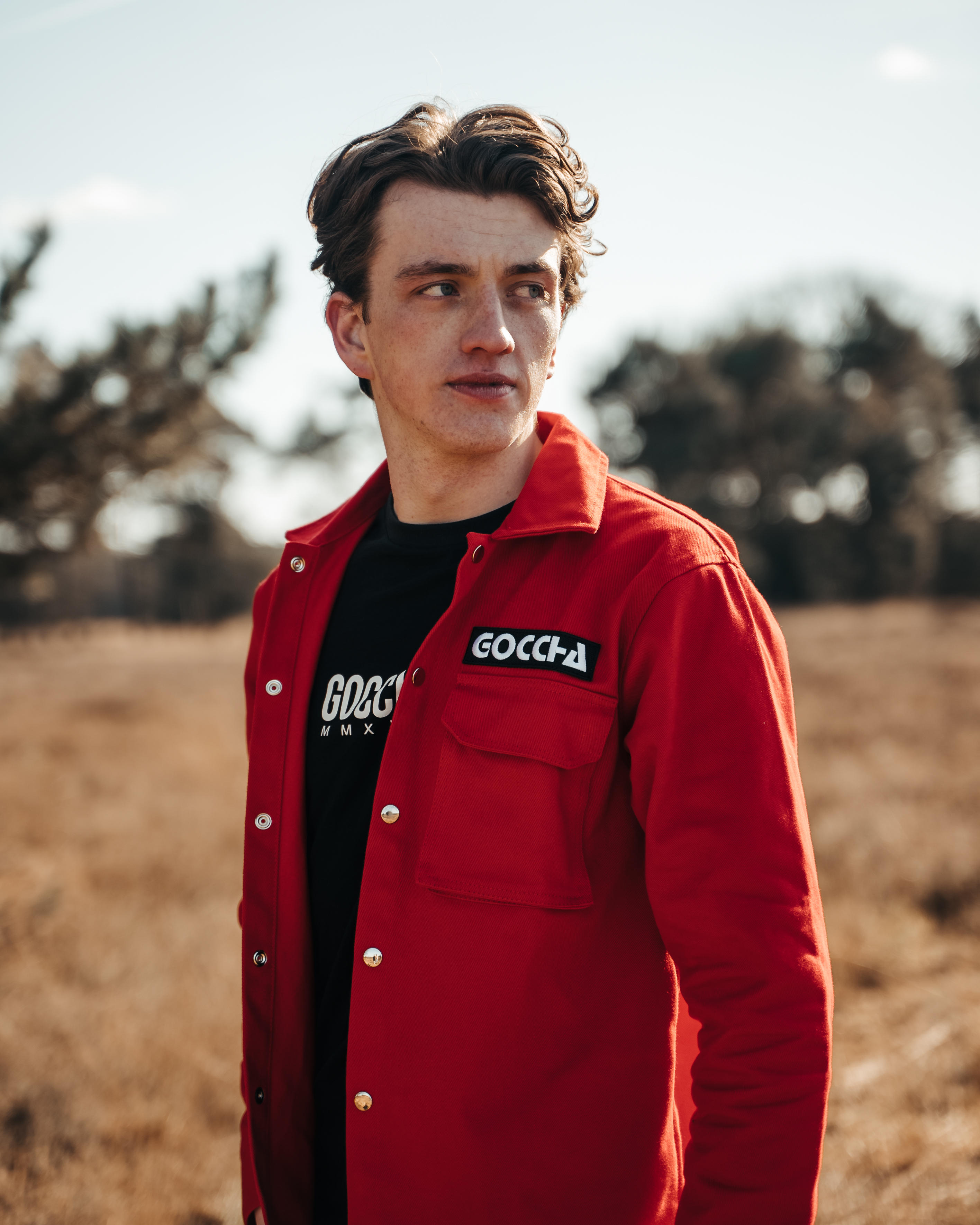 Combo deal: JTP Hoodie Red + Cargo Jacket Red