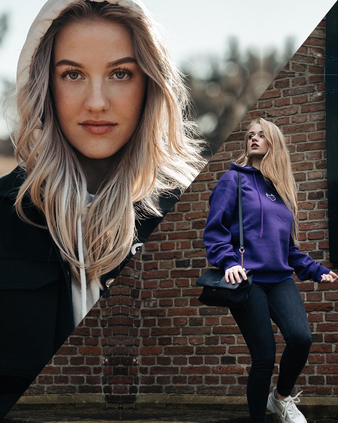 Combo deal: JTP Hoodie Purple + Cargo Jacket Black